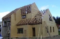 Строительство панельно-каркасного дома