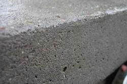 Застывший бетон с отсевом