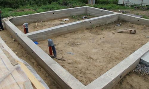 Фундамент для каркасного дома своими руками пошаговая инструкция фото 127