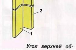 Схема верхней обвязки каркасного дома.