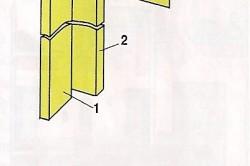 Схема обвязки верхних углов