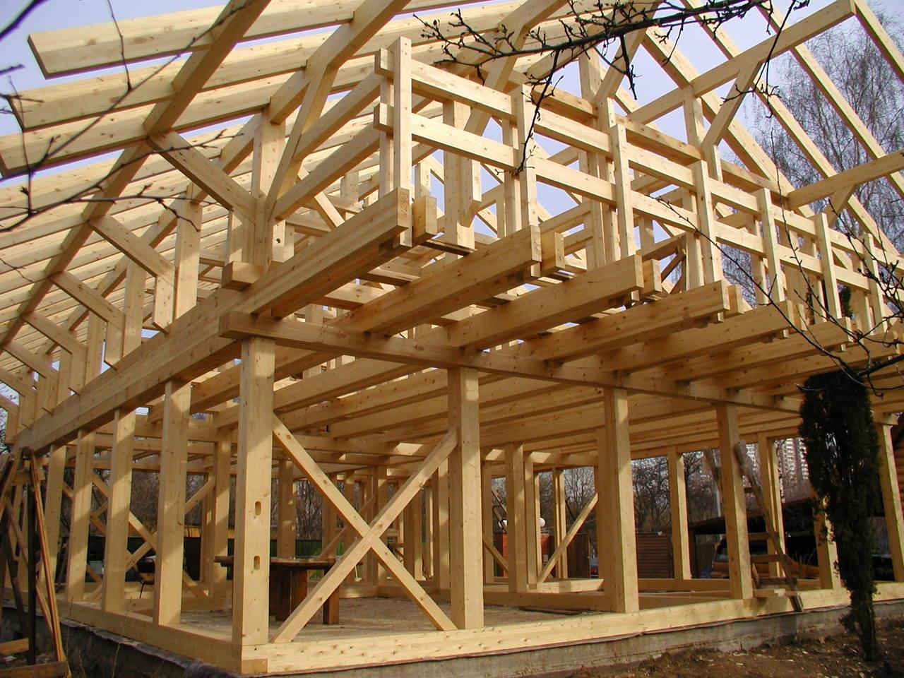 каркасное строительство второго этажа своими руками