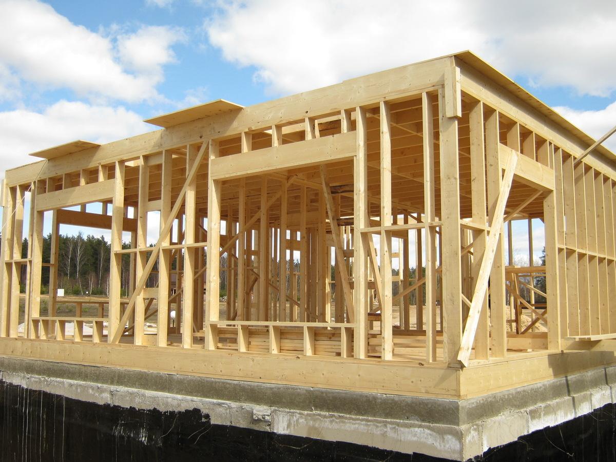 Каркасные дома проекты своими руками