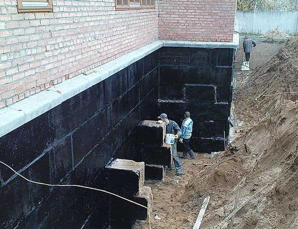 Как правильно сделать гидроизоляцию фундамента в доме