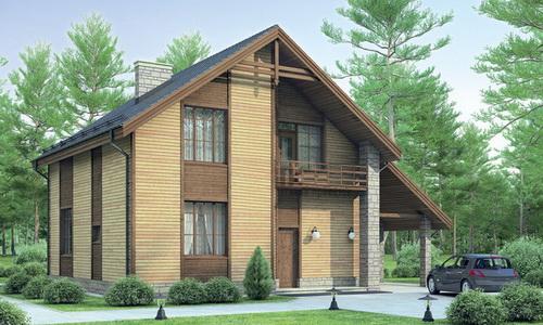 Правильно сделанный каркасный дом